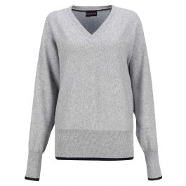 GOLFINO SILVER TOUCH PULLOVER (BLENDED ANGORA)