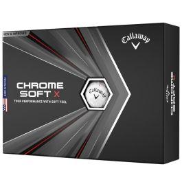 CALLAWAY BALL CG CHROME SOFT X