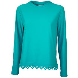 MARIE VALOIS SWEATER LACED  3120122
