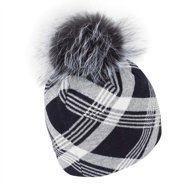 GOLFINO SILVER TOUCH HAT (BLENDED ANGORA) BLU NAVY UNI